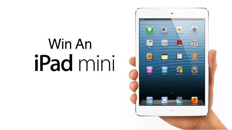 Win an iPadMini Contest!