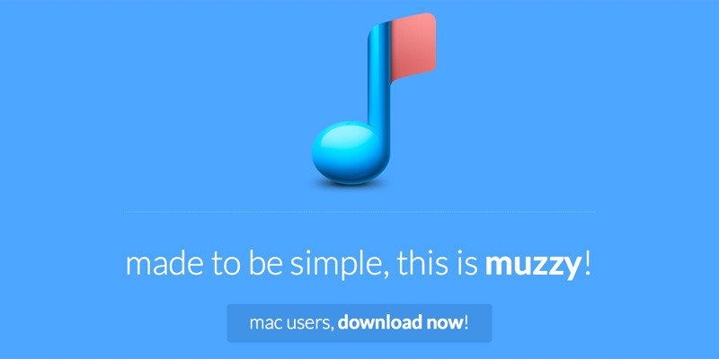 Muzzy - a tiny and gorgeous iTunes companion.