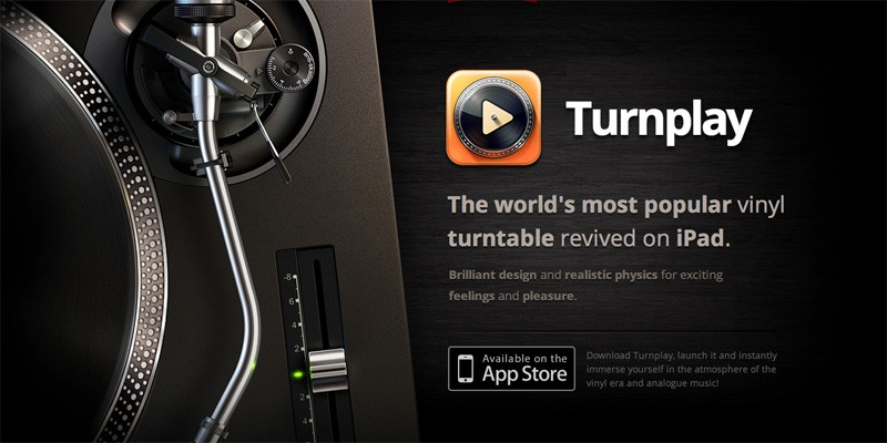 The world's most popular vinyl turntable revived on iPad!